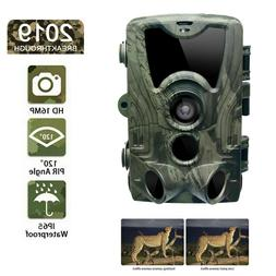 1080P 16MP Hunting Trail Camera Wildlife Scouting Cam IR Nig