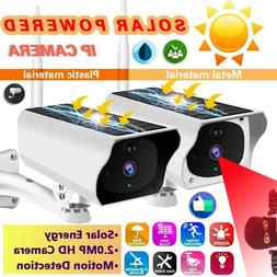 1080P HD Outdoor Wireless Solar Powered IP Camera WiFi Secur