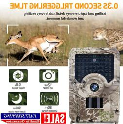 1080P 12MP Hunting Trail Camera Infrared Night Vision Wildli