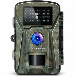 APEMAN 12MP 1080P Trail Wildlife Camera Trap with Infrared N