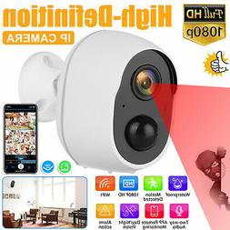 1080P HD Outdoor PIR Motion Wireless IP Camera WiFi Security