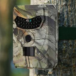 12MP HD Hunting Trail Camera PIR IR LED Motion Activated Sec