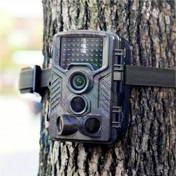 12MP Trail Camera IP56 Waterproof Outdoor Hunting Cam with I