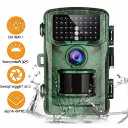 14MP Trail Camera Deer Security Camera Hunting Stealth Cam I