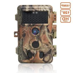 Wildlife Trail Game Camera 16MP 1080P Infrared Night Vision