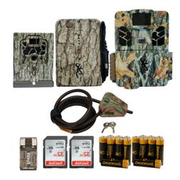Browning Trail Cameras 18 MP Dark Ops Apex Game Cam Bundle w