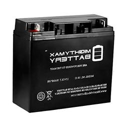 Mighty Max Battery 12V 18AH SLA Battery for DR Field and Bru