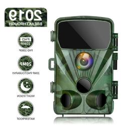 """TOGUARD 2.4"""" Trail Game Camera 20MP 1080P Outdoor Hunting Ca"""