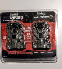 2 Pack Stealth Cam 14 Mega Pixel 60 Feet 1 Second Trail Came
