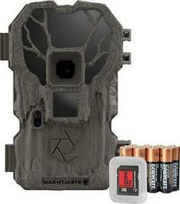 2 Stealth Cam PXP36NGK Bundle w/ Batteries + 8GB SD 20MP Tra