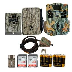 Browning Trail Cameras 20 MP Dark Ops Pro X Game Cam Bundle