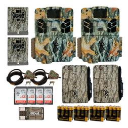 Browning Trail Cameras 20 MP Dark Ops Pro X Game Cam 2-Pack