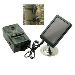 2000mA Trail Scouting Hunting Camera Solar Panel Charger Pow