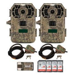 Stealth Cam 2020 G42NG 24MP Trail Camera 2-Pack with Cable L