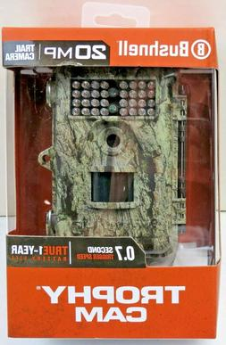 Bushnell 20mp Trail Camera Trophy Can HD Low Glow Back Infra