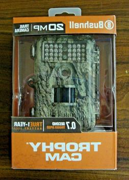 Bushnell 20mp Trail Camera Trophy Can HD No Glow Back Infrar