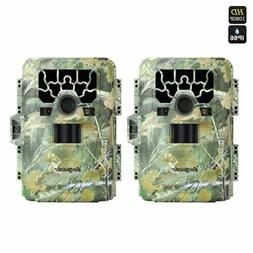 2PACK 12MP Stealth Cam SG-880V No Glow Trail and Wildlife Ca