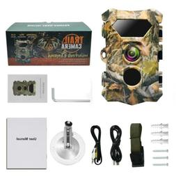"""1080p 2.4"""" LCD 5MP Infrared Hunting Game Trail Camera PIR se"""