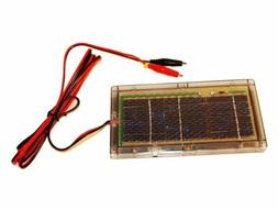 6V 6 Volt Solar Panel Battery Charger Hunting Trail Camera D