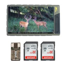 "Browning Trail Cameras 7"" Color Image and Video Viewer and 2"