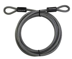 Master Lock 72DPF 15' Galvanized Steel Cable With Loop Ends