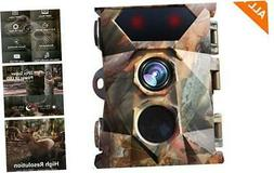 AIMTOM 16MP 1080P Trail Camera 0.3s Trigger Speed Motion Act
