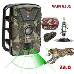 Game Trail Camera 1080P 12MP with Sound Scouting Camera with