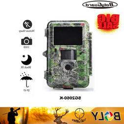 Boly hunting camera Trail Game Camera 36MP 1080P 100ft IR Fl