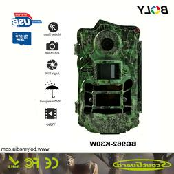 Boly Trail Game Camera hunting 30MP 1080p 120° Wide Angle L