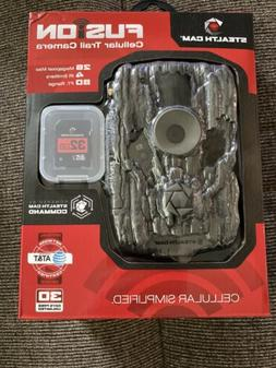 Brand New Stealth Cam Fusion AT&T Wireless 26MP Cellular Tra