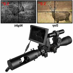 Night Vision Rifle Scope Hunting Sight Infrared 850nm LED Op