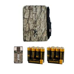 Browning External Trail Camera Battery Power Pack with Batte