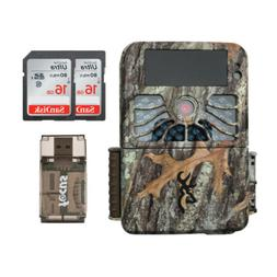 Browning Recon Force 4K 32MP Trail Camera with 2 Memory Card