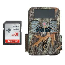 Browning Recon Force 4K Trail Game Camera  16GB Memory Card