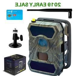 CreativeXP 3G Cellular Trail Cameras | AT&T WiFi Full HD Wil