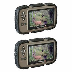 "Stealth Cam CRV43 4.3"" LCD Screen Game Photo Viewer & SD Car"