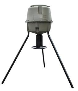 Moultrie Dinner Plate Deer Feeder | 30-Gallon | Gravity Feed
