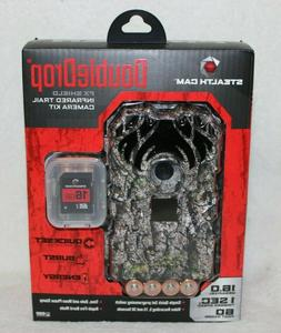 Stealth Cam Double Drop FX Shield Infrared Trail Camera Kit