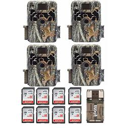 Four Browning Trail Cameras Dark Ops Extreme 16MP Game Camer