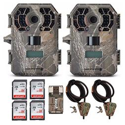 Stealth Cam G42 No-Glo Trail Game Camera STC-G42NG  with 2 C