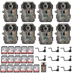 Stealth Cam G42NG No-Glo Trail Camera 8-Pack Ready-to-Go Bun