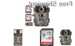 Stealth Cam G42NG Trail Camera Bundle with Two Memory Cards
