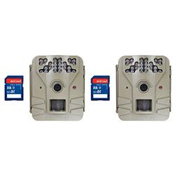 Moultrie Game Spy 2 Plus 9MP Game Camera, 2 Pack with SD Car