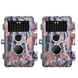 BlazeVideo 2-Pack 16MP 1920x1080P Video Game Trail Hunting C