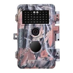 BlazeVideo HD Game Hunting Trail Camera 16MP 1080P Video Dee