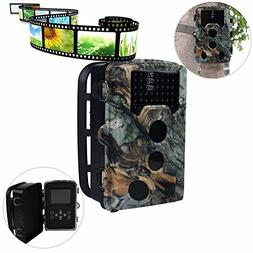 Game Trail Cameras with Night Vision 16 MP 1080P HD Trail Ga
