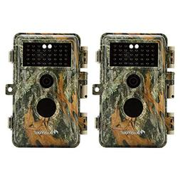 BlazeVideo 2-Pack Game Trail Deer Cameras 16MP 1920x1080P V