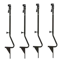 HME Products Ground Trail Camera Mounts   4-Pack   Elevates