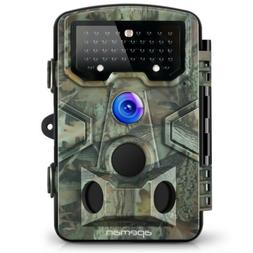 APEMAN H65 12MP 1080P Hunting Trail Camera with 120° Wide A