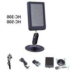 HC-500 Off Grid Solar Panel Battery Charger Hunting Trail Ca